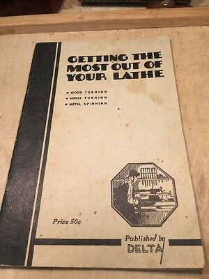 VINTAGE Delta Milwaukee Guide Book