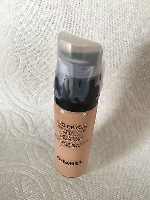 CHANEL LES BEIGES HEALTHY GLOW FOUNDATION BROAD SPECTRUM SPF25 20ml Shade No.30