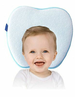 Baby Pillow for Plagiocephaly | Avoid baby flat head | Memory Foam Pillow for...
