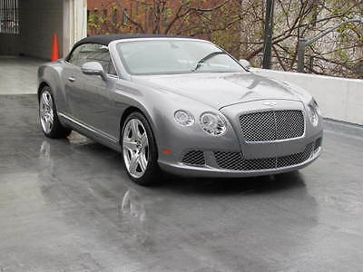 2012 Bentley Continental GT Convertible in Hallmark with 107,078 miles 2012 BENTLEY CONTINENTAL GT CONVERTIBLE IN HALLMARK WITH BELUGA