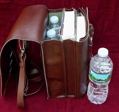 East Germany NVA Army Surplus - New Meldung - Report Cases / Shoulder Map Bag