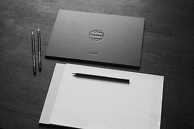 SketchMate Drawing Board With Paper Grip Surface (A4) A4