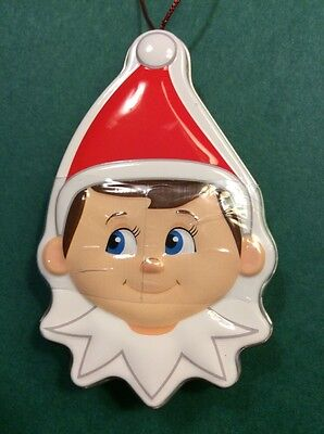 The Elf on the Shelf Tin Ornament with Mints