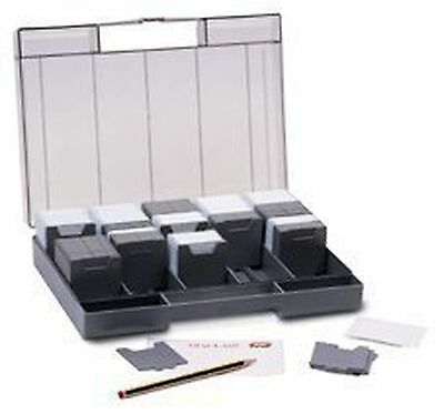 35mm Slide Storage Box with Index Card and Labels