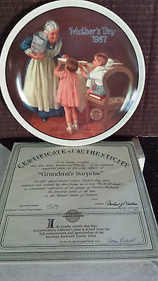 Bradford Exchange Collectibles Plates - Rockwell