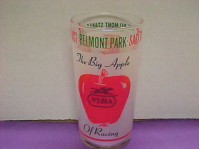 1976 Belmont stakes glass First glass.Beautiful.Mint condition