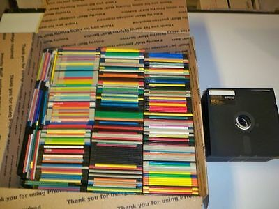 HUGE lot of 3.5 and 5.25 floppy disks----------Used. Tons of programs!!