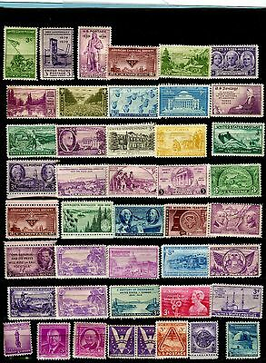 USA, small collection of mint stamps,mostly 3 cent  (427