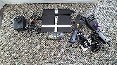 Scalextric 'SPORT' Hand Controllers, Power Base and Supply. Excellent condition!