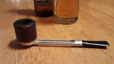 Vintage FALCON ESTATE PIPE  VERY CLEAN - Wood and Metal
