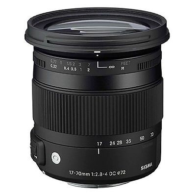 Sigma DC 17-70mm f/2.8-4 OS HSM DC Lens For Canon