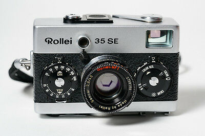 Rollei 35 SE w/Sonnar 40mm f2.8 lens made in Singapore