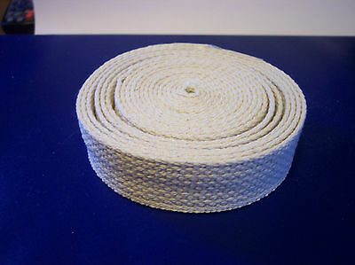 1/2 Inch Wide Wick 100% Cotton,10 Feet Long for Oil Lamps Made in the USA   44BE