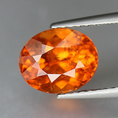 2.68 cts-Vivid Fanta Orange-Oval Cut-Nigeria Natural-Spessartite-GQ251