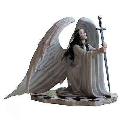 The Blessing Gothic Angel Art Figurine By Anne Stokes