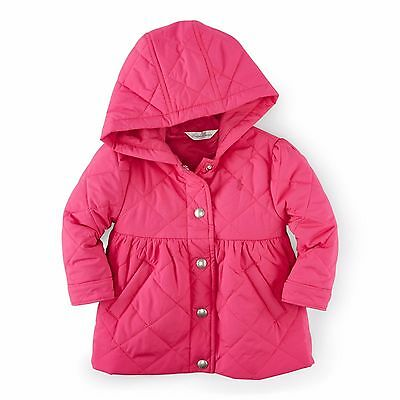 Ralph Lauren Pink Quilted Jacket Coat Baby Girls 3 months 6 Months NWT  $99.50