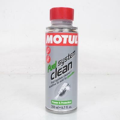 Additif nettoyant circuit d'essence moto 4T Motul Fuel Systeme Clean Neuf
