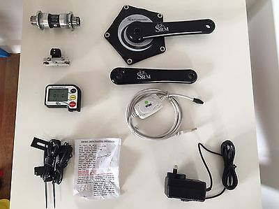 SRM Track PowerMeter 167.5mm PowerControl V PC5 Dura-Ace BB-7700 and Accessories