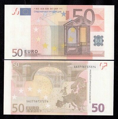 50 Euro 80pcs Paper Money FOR GAME