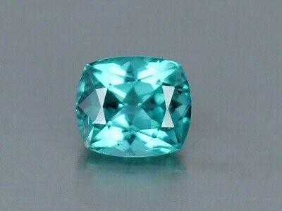 1.65 Ct FLAWLESS Brazilian Blue Natural Paraiba Tourmaline Gemstone 7 x 6 x 5mm