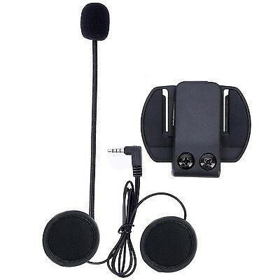 Fodsports Microphone Headphone Headset & Clip Accessory for New V6 Motorcycle...