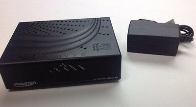 Scientific Atlanta Webstar DPC2100R2 Cable Modem Docsis 2.0 With Adapter Free DL