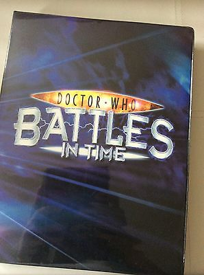 Doctor Who Battles In Time Cards Lot With Folder