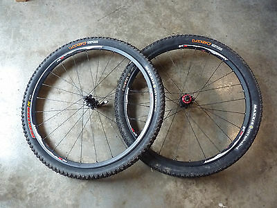Easton XC One SS singlespeed wheelset 26 inch with tyres