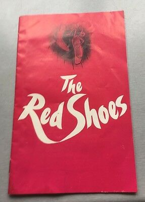 The Red Shoes theatre programme RARE