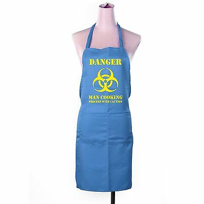 Danger Man Cooking Unisex Chefs Kitchen Craft Apron Funny Novelty Xmas Gift