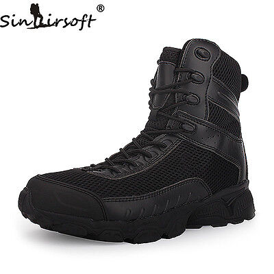 Army Tactical Military Camping Hunting Hiking Boots Winter Desert Shoes Men Male