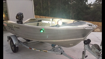 2013 Quintrex Stacer Dinghy Boat Tinny with Trailer