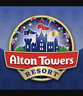 Alton Towers tickets X2 Saturday 5 August 2017
