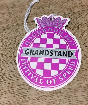 Goodwood Festival of Speed  Grandstand Ticket for Friday  2017