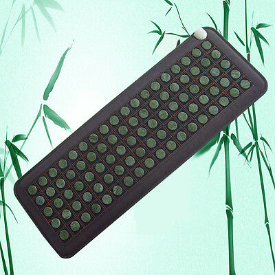 Stone heating mat Tourmaline Natural Jade Infra Red Multi Pad USA 2-5Days SHIP