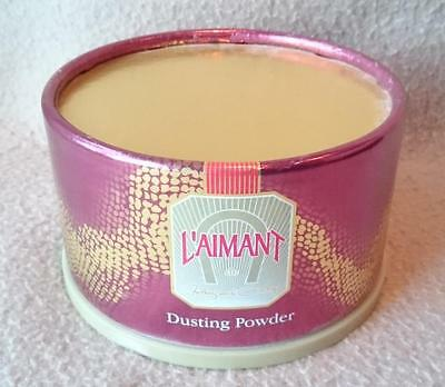 "COTY BRAND ""L'AIMANT"" PERFUMED DUSTING BODY POWDER 100 gr"