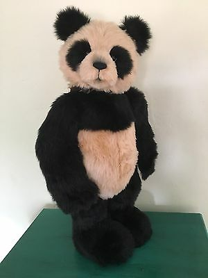 """Charlie Bears India 31"""" Retired Limited Edition 614/1000"""