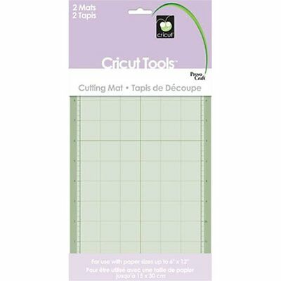 Cricut 29-0003 6-by-12-Inch Adhesive Cutting Mat Set of 2