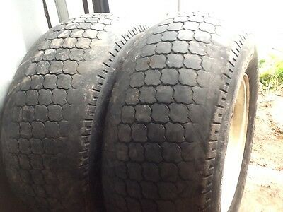 2 12llx16 wheels & tyres for compact tracror kubota, new holland