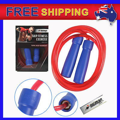 New Boxing Skipping Rope Bigman MMA Sports Martial Arts Skip Fitness Exercise AU