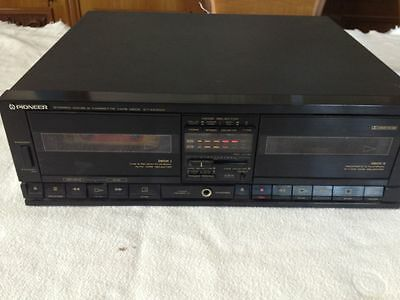 Registratore Piastra A Due Cassette Pioneer Ct-X430W