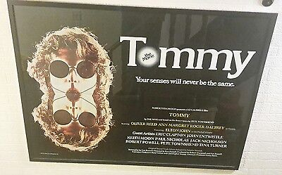 The Who - Tommy - Original Quad Film Poster - Framed