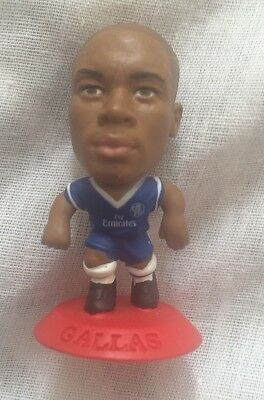 Corinthian Microstars CHELSEA (HOME) WILLIAM GALLAS RED BASE