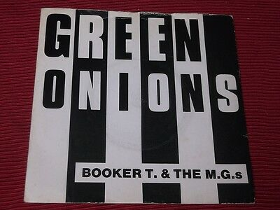 """Booker T & the MGs:  Green Onions   7""""   EX+"""