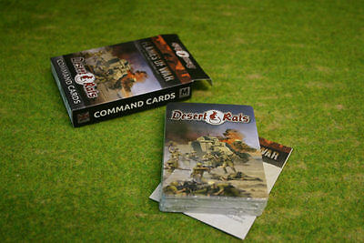 DESERT RATS COMMAND CARDS Flames of War FW241C