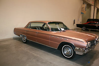 1962 Buick Electra  1962 BUICK ELECTRA 225 4 DOOR HT 401 NAIL HEAD V-8 FACTORY AIR, PW,PS, 1959 1960