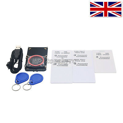 PM3 Proxmark3 Kits ID NFC RFID Card Reader Smart Tool f/ Elevator Entrance Guard