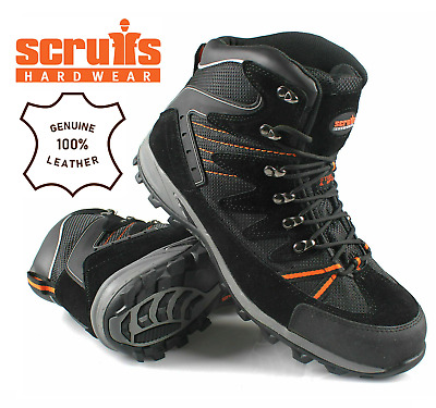 Mens Scruff Trent Lightweight Work Steel Toe Cap Safety Trainers Shoes Uk Sizes.