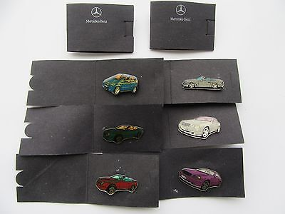 Mercedes Benz Pin CLK Coupe Cabrio SL A-Klasse Anstecker Pins