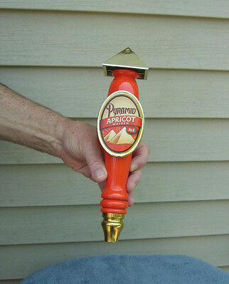 New Apricot Weizen Ale By Pyramid  Beer Tap Handle Knob